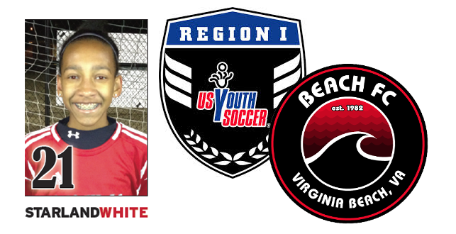 Beach FC's Star White Named to Interregional Team