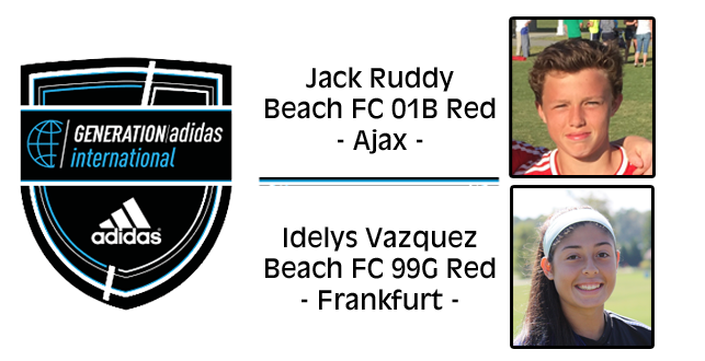 Congraulations to Jack & Idelys on their Generation adidas Selections!
