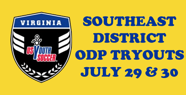 SE District ODP Tryouts