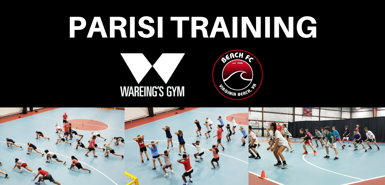 Parisi Training Schedule