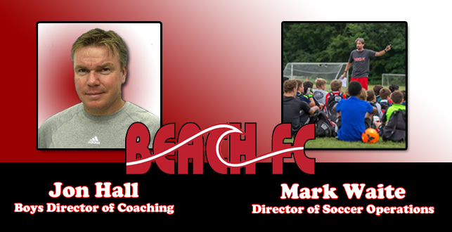 Hall and Waite Transition to New Roles with Beach FC